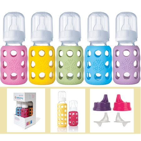 photo of Lifefactory Glass Baby Bottles