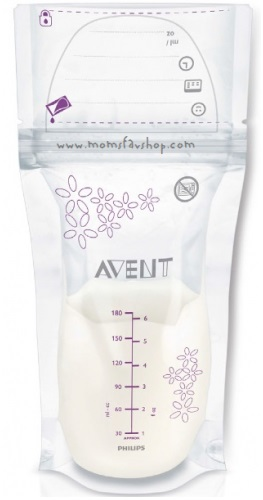 image of an Avent storage bag