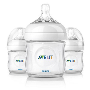 photo of Philips Avent Natural plastic bottles