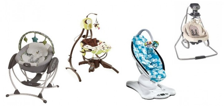 four most popular baby swings