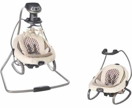Graco DuetSoothe serwing as a Swing and separately as a Rocker