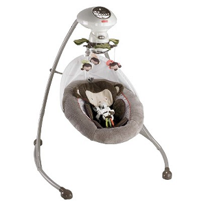 My Little Snugamonkey infant Swing by Fisher-Price