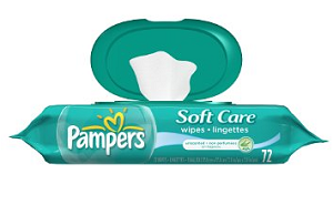 Softcare Baby Fresh Wipes by Pampers