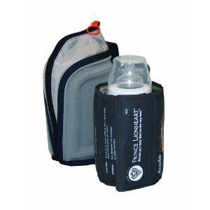 Portable bottle warmer with pouch and neoprene case by Prince Lionheart
