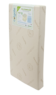 Eco Classica III coil-based crib mattress by Colgate