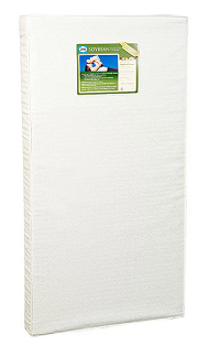 Foam-based crib mattress with addition of soybean oil by Seally