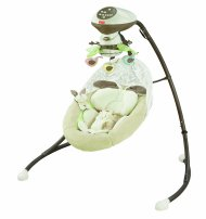 Fisher-Price Snugabunny Cradle and Swing