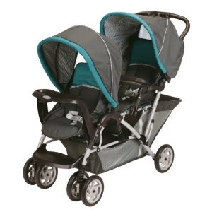 Amazingly low price double stroller for infant and toddler by Graco.