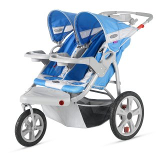 Double stroller for runners