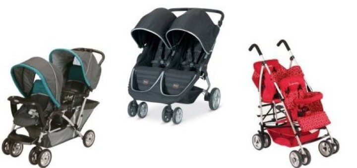 three best double strollers for families with toddler and infant